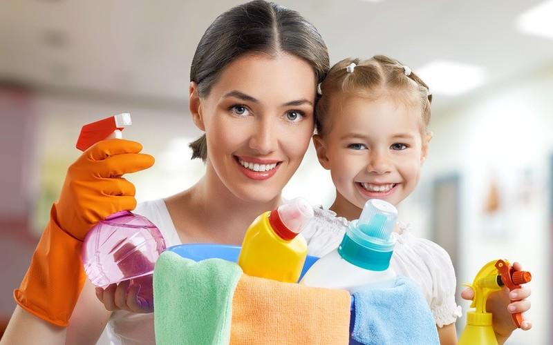 Здоровье детей страдает от моющих средств