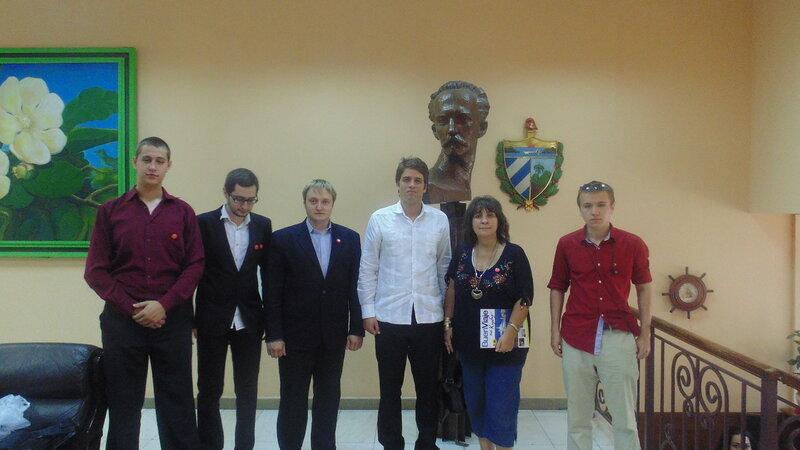 Куба посольство день рождения Фиделя-1.JPG