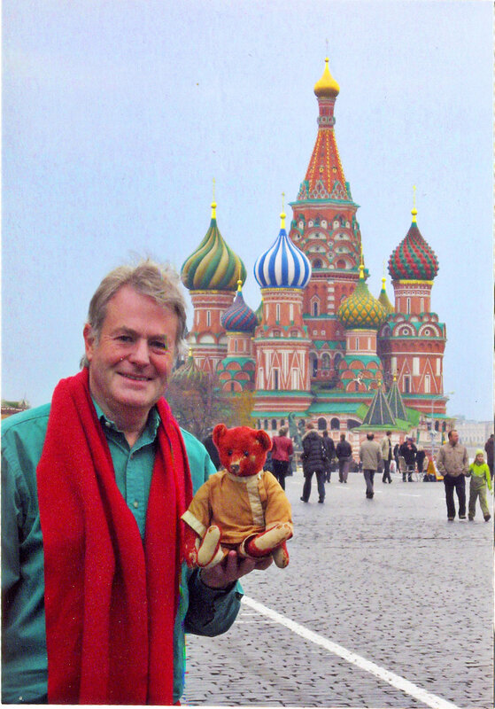 Фотография, присланная Яном Поутом. Ян и Альфонсо на Красной Площади.
