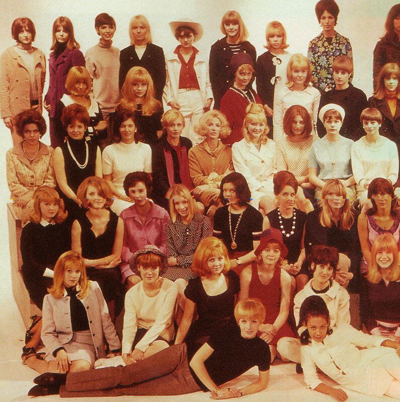 Прически-1965