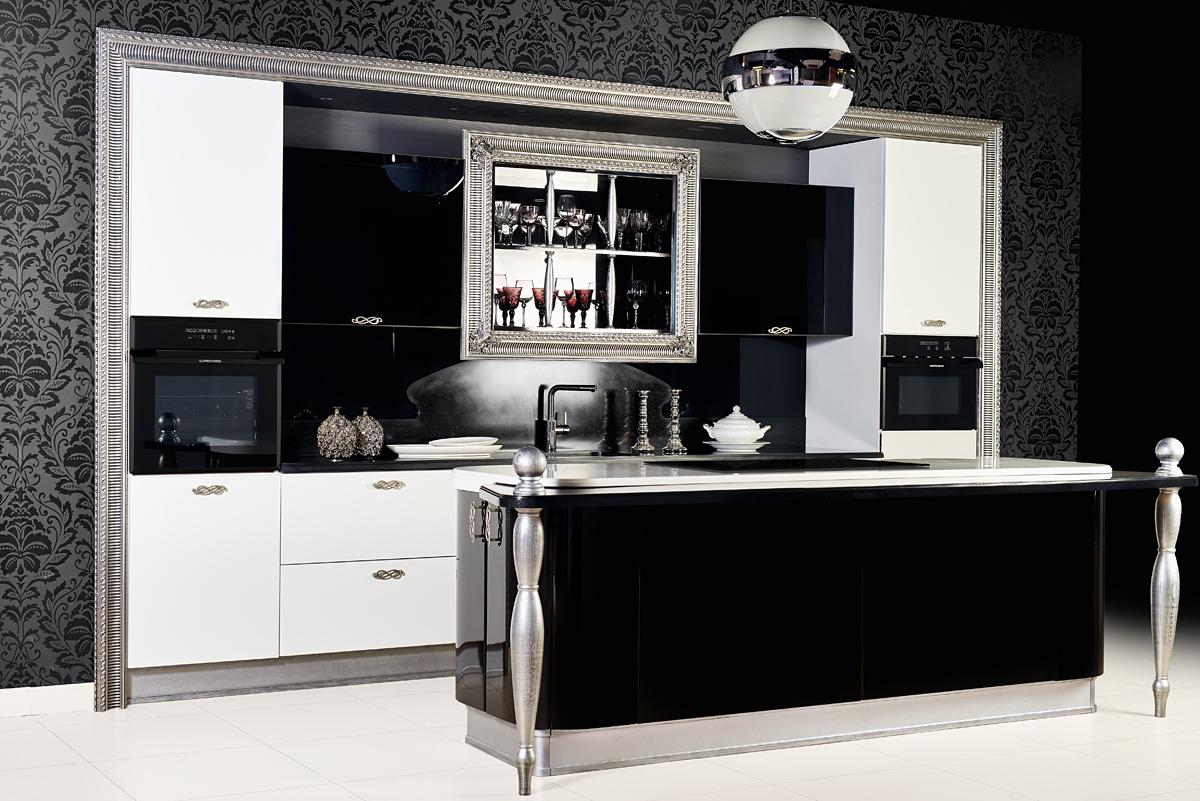 строгий стиль, кухонный дизайн в Краснодаре, кухни на заказ