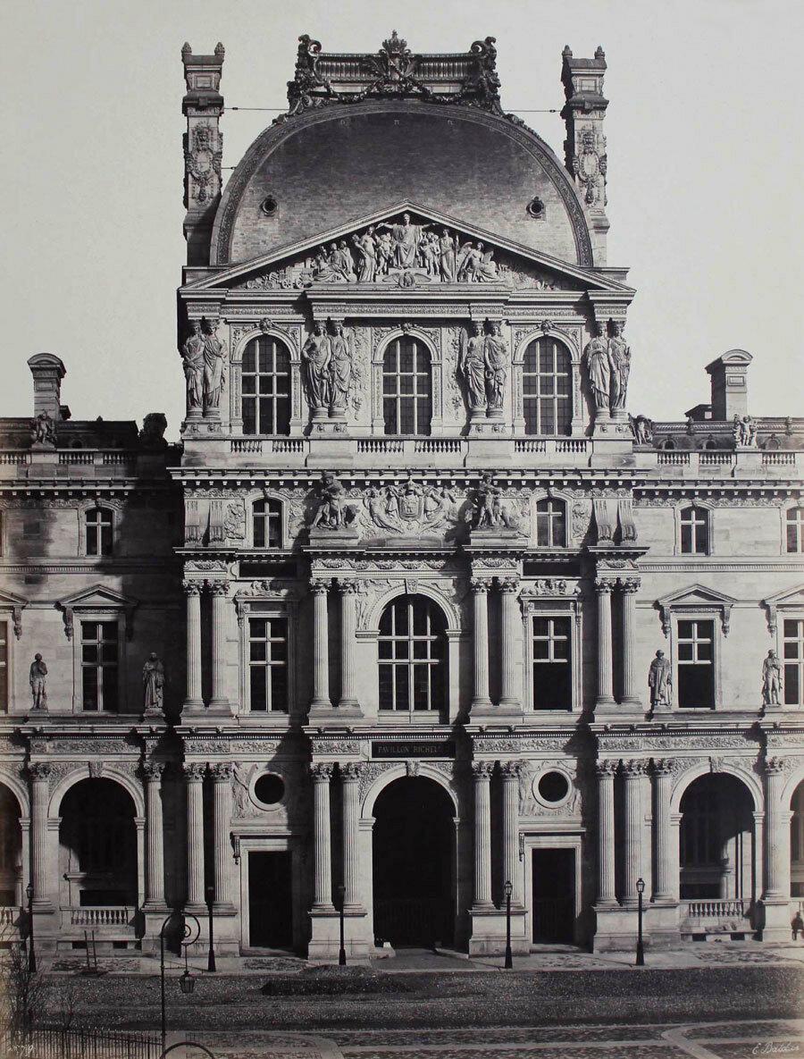 1855. Новый Лувр. Павильон Ришелье.