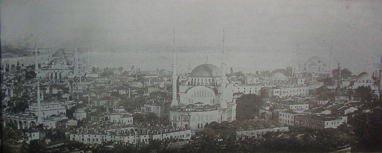 1843. Панорама Константинополя с Башни Беязит