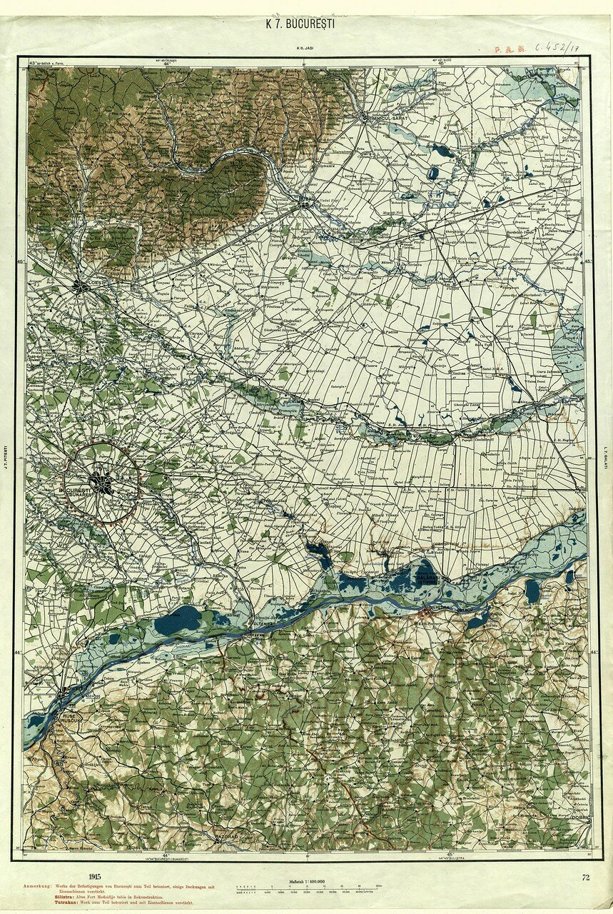 Бухарест. 1915