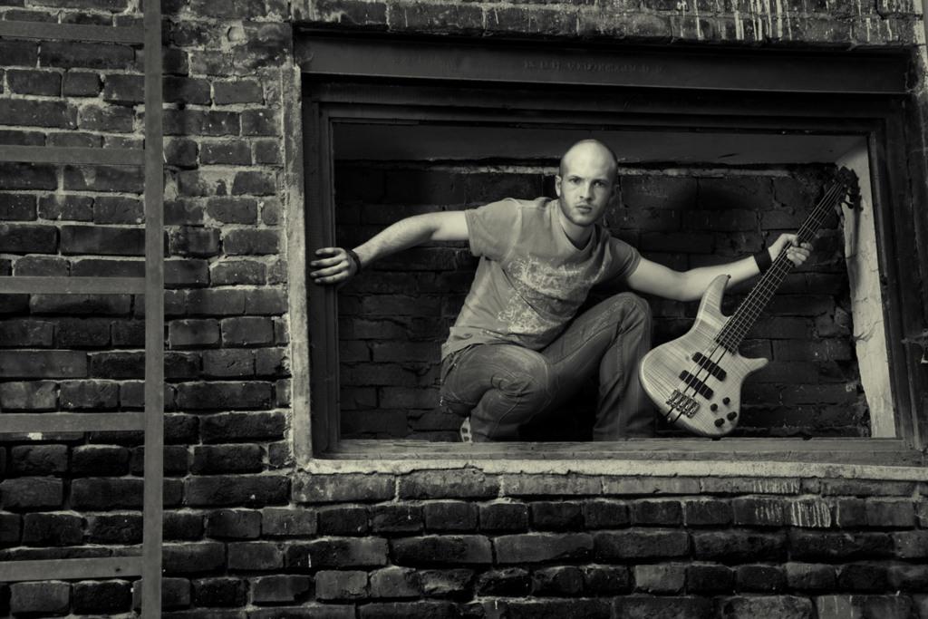 студийные фотографии для портфолио музыканта