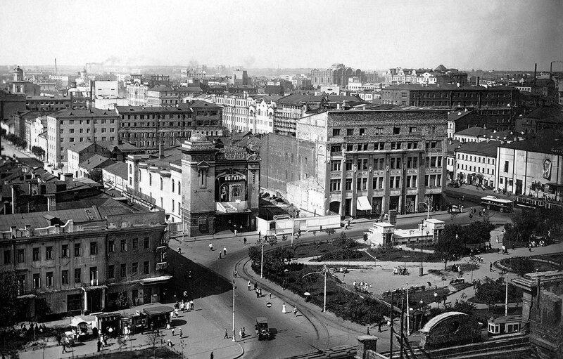 Площадь МАяковского в 1934 г.