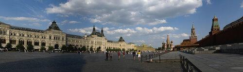 Панорама красной площади. Смотреть в полном размере