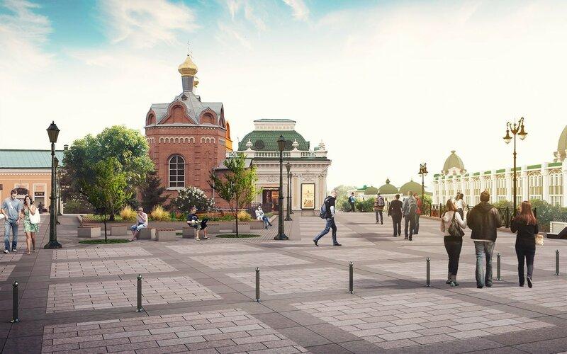 Проект ул. Ленина в Омске