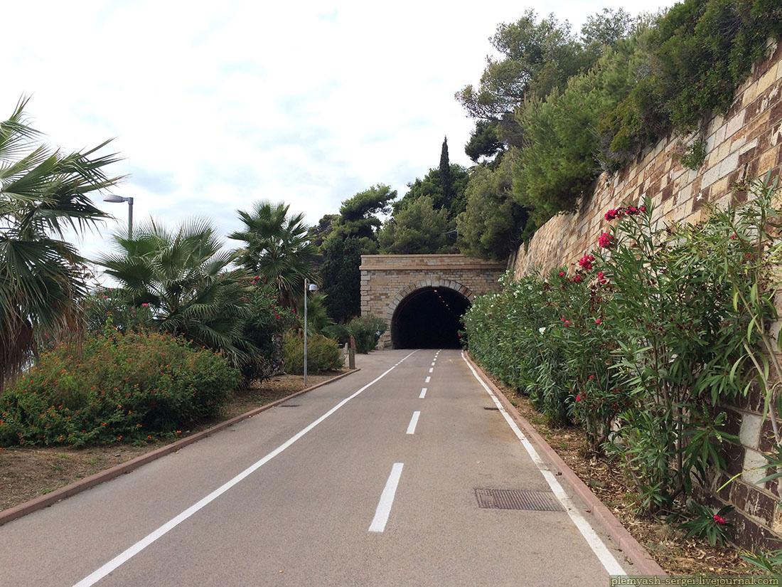 Велодорожка Лигурия