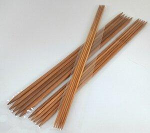 Спицы чулочные AUSFINE бамбук длиной 25см