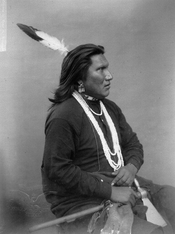 Inside Man a Omaha man, 1883