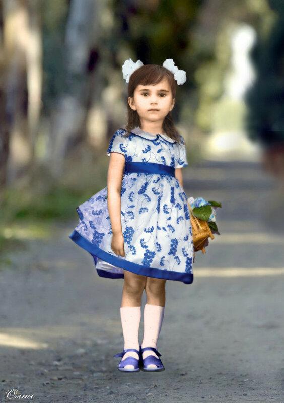 Олия (детство)