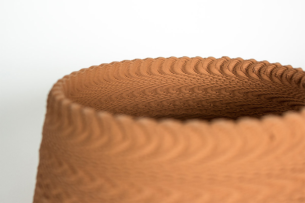 Music and Sound Vibrations 3D Printed Into Ceramic Vessels