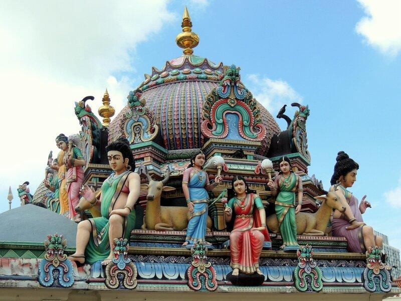 Крыша храма