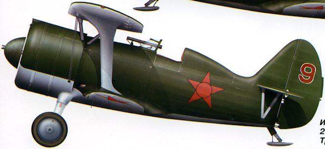 И-15бис из 3-й эскадрильи 215-го ШАП, аэродром Травники, июнь 1941 г..jpg