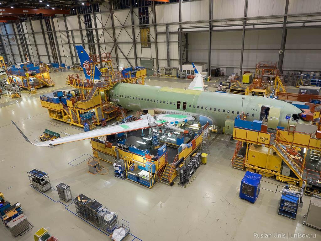 Завод Airbus в Гамбурге