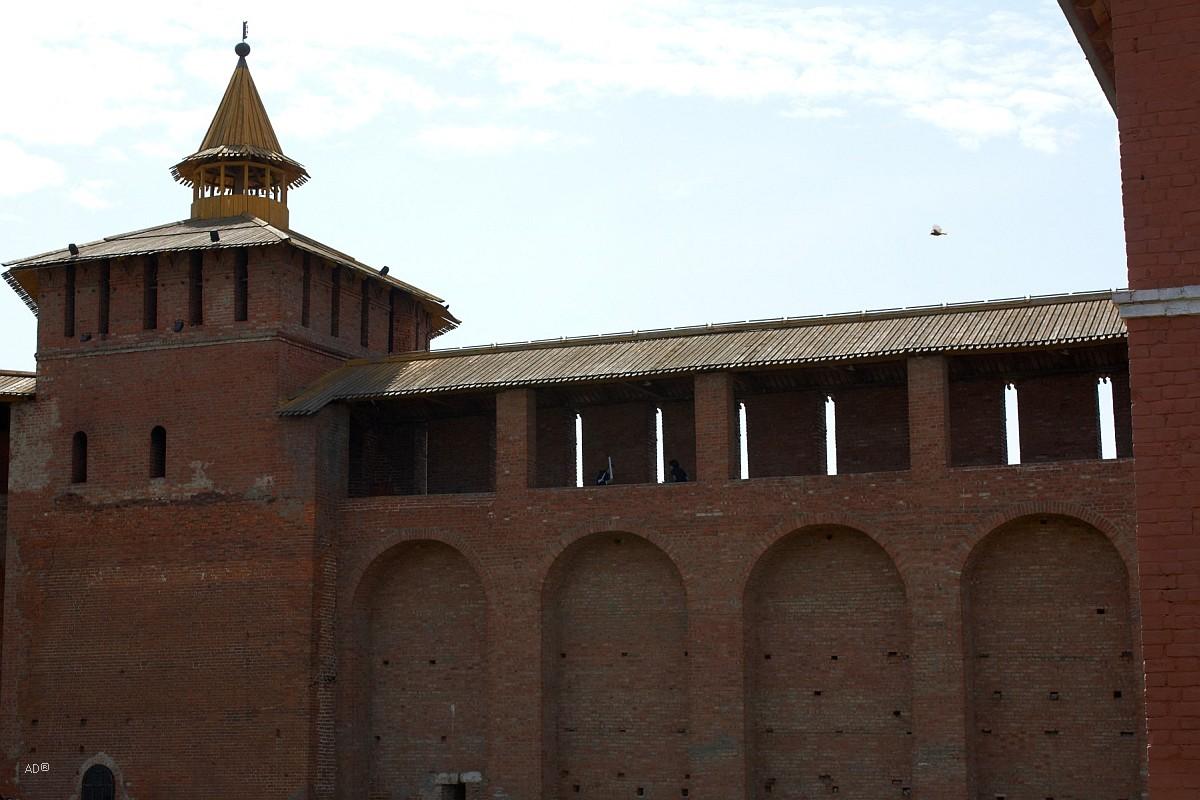 Участок кремлевской стены