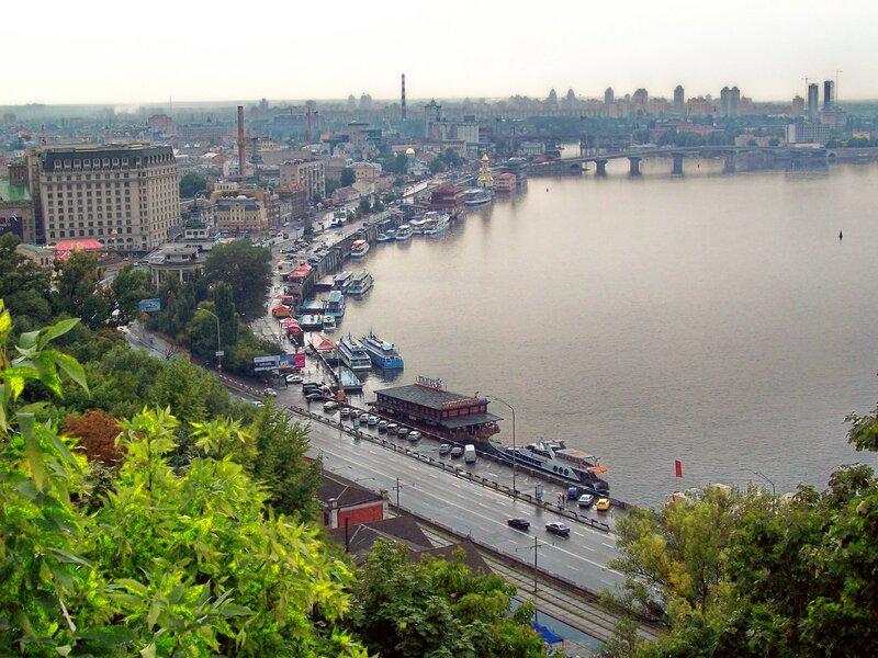 Днепр и речной порт