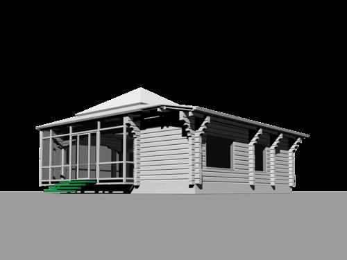 современный стиль в интерьере деревянный дом из деревянных клееных профилированных балок, остеклённая витражная терраса со спальными, гостиной и детской комнатами, ванной, туалетом, прихожей, современный стиль в интерьере