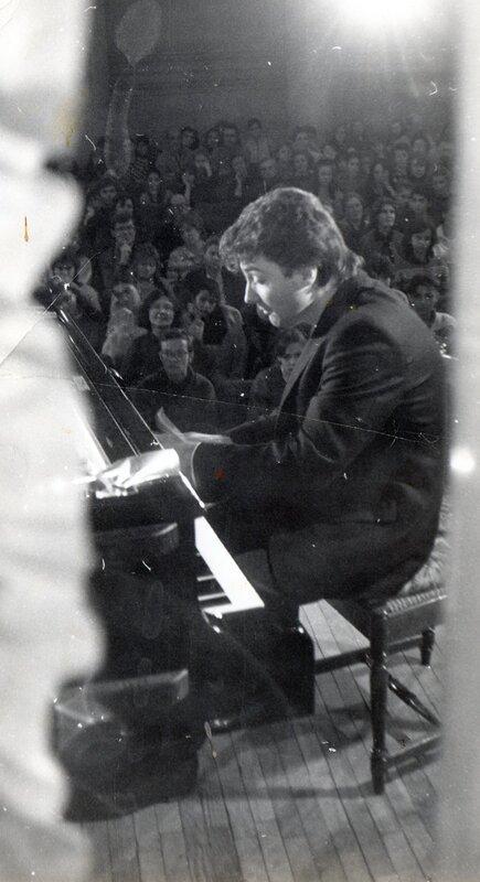 Валерий Петаш - концерт в Доме Медика, Москва, 1989