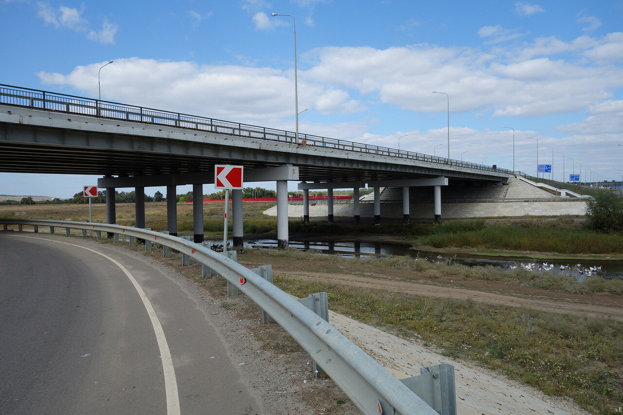 мост М4 над рекой Калитва