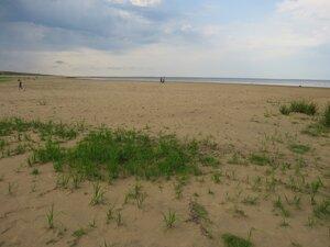 Достопримечательности деревни Коростынь - песчаный берег озера Ильмень