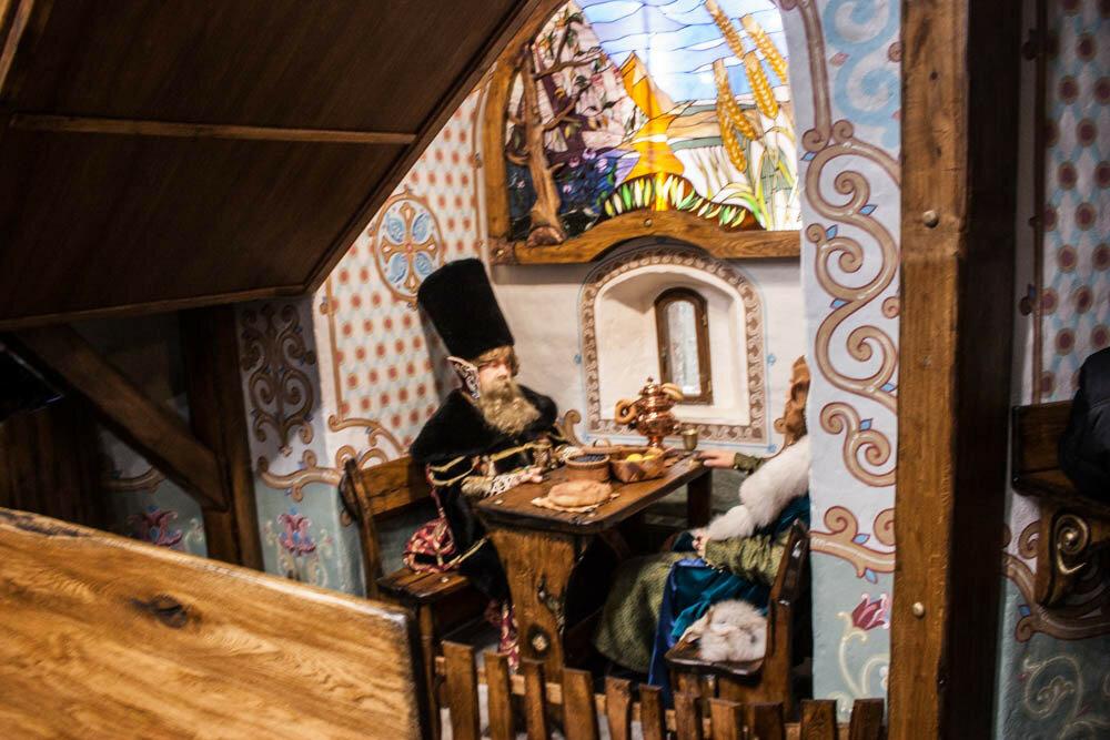 Кафе Звенигородского монастыря