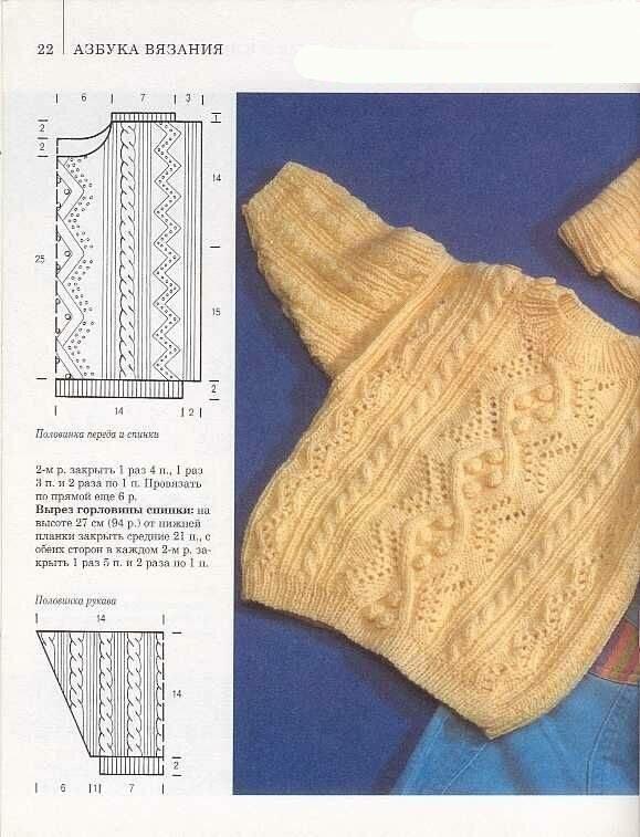 Все о вязании для детей крючком и на спицах