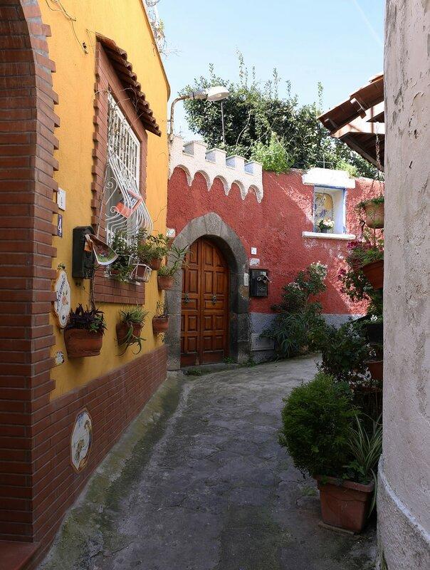 Ischia, Forio. San Gaetano square  (Piazza San Gaetano)