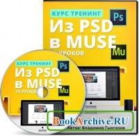 Книга Из PSD в Muse
