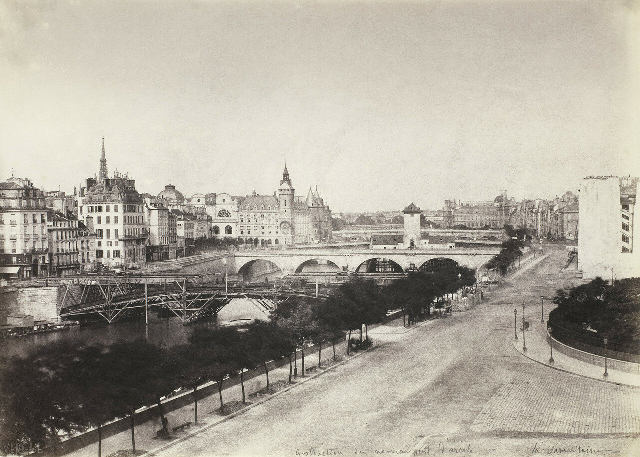 1855. Строительство Аркольского моста
