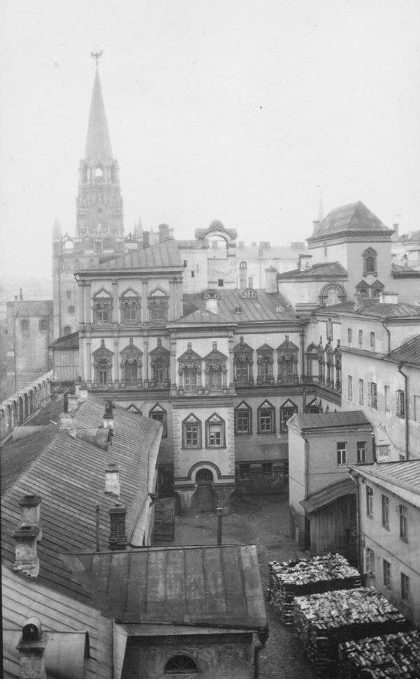 603. Кремль. Троицкие ворота и Потешный дворец