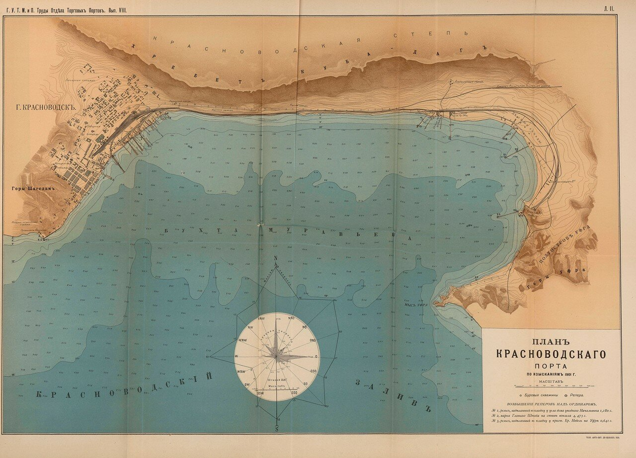 05. План Красноводского порта