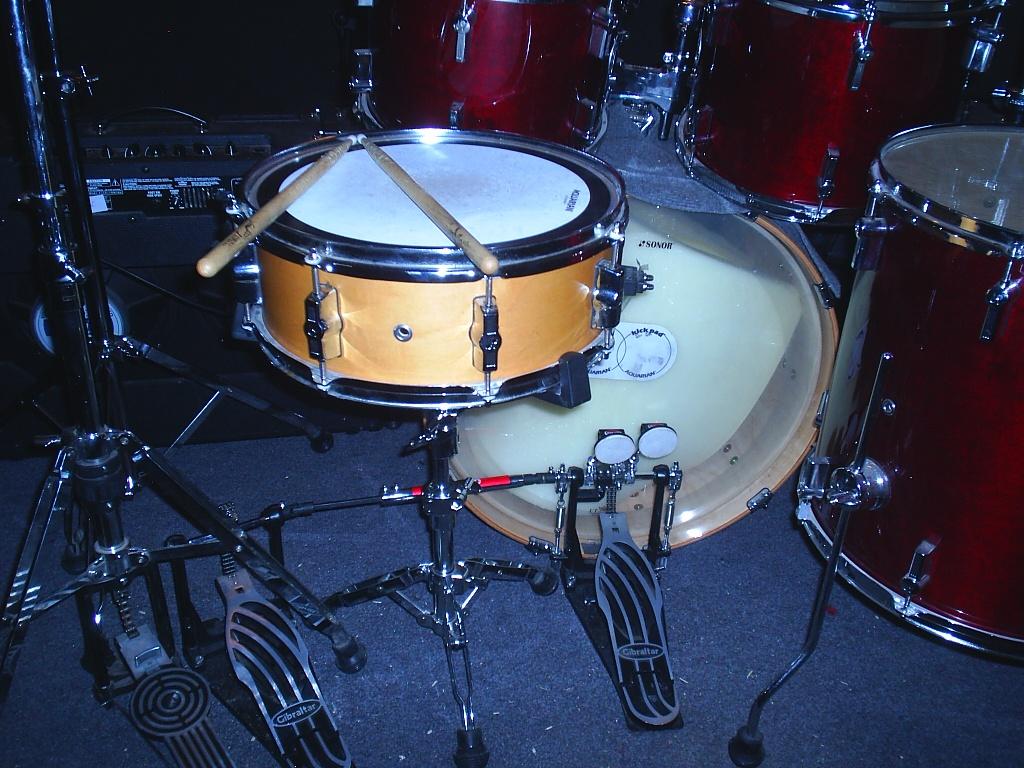 Как сделать свою барабанную установку 465