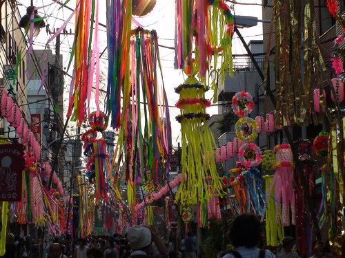 Танабата или Фестиваль звезд!