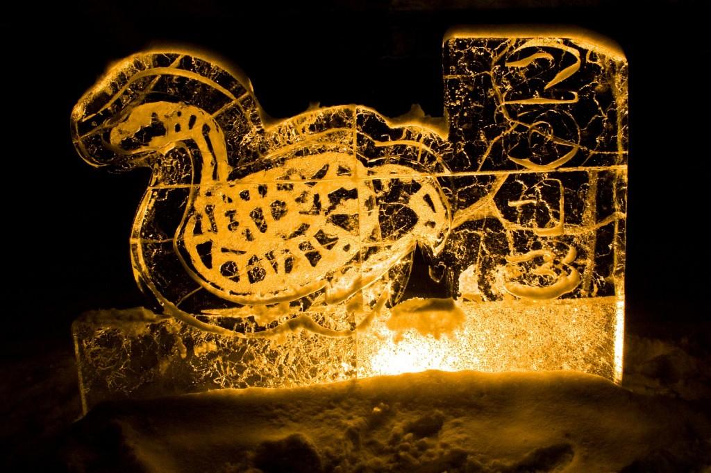 Выставка ледяных скульптур