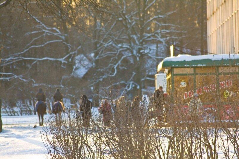 Прогулка на ВДНХ 10 января 2009