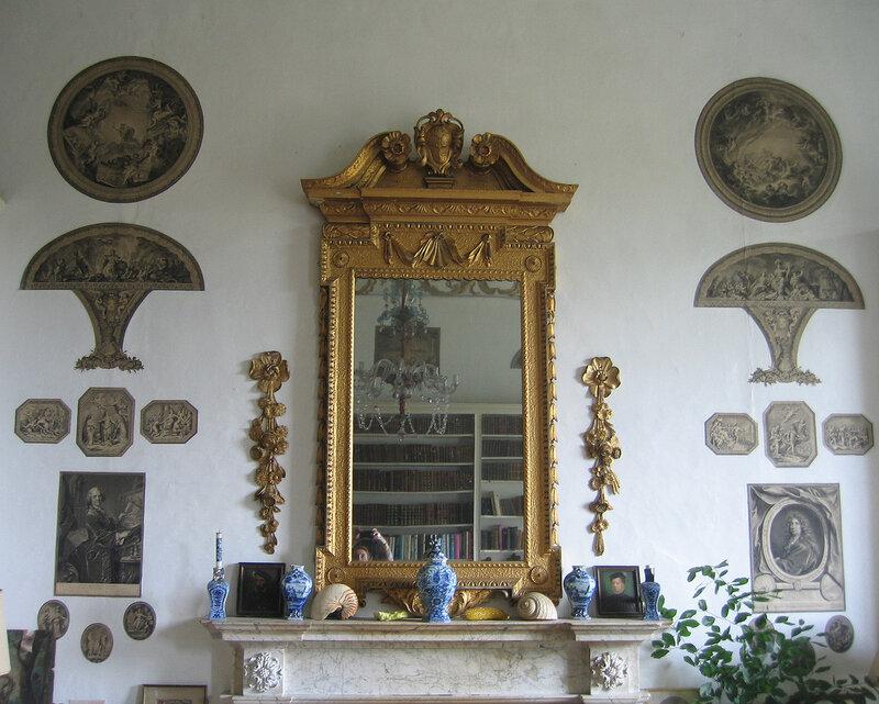 Зал гравюр в Лейкслип-касл