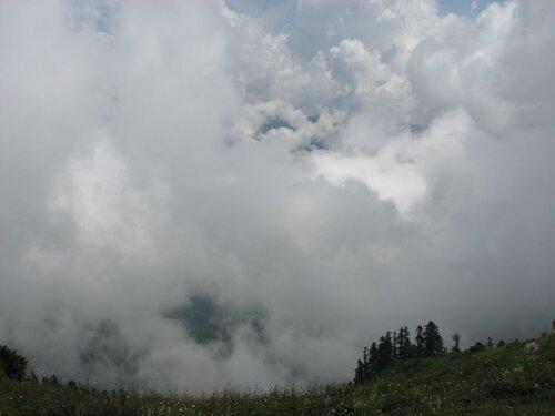 Альпийские луга, небо 1