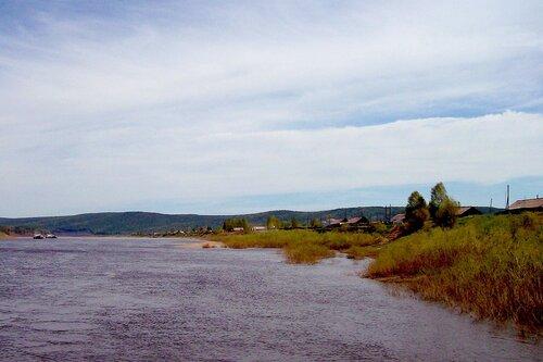 Село Макарово на Лене