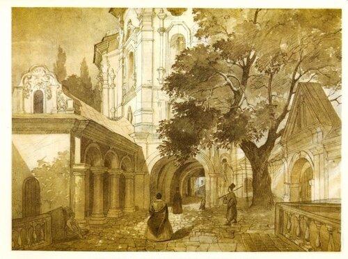 Церква всіх святих у Києво-Печерській лаврі.