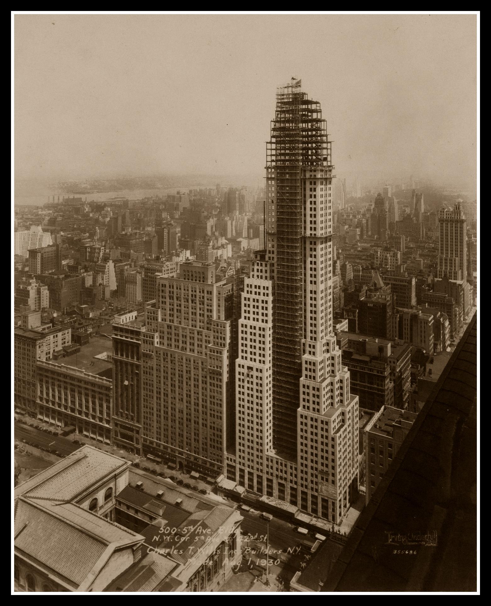 History New York 20th Century