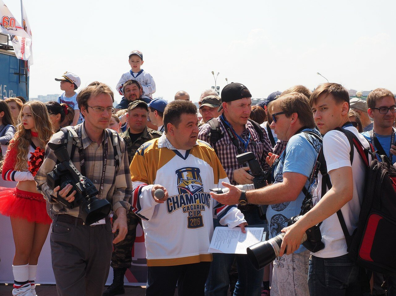 10Церемония чествования команды Металлург27.05.2016
