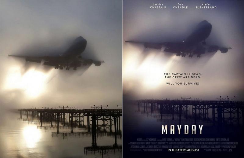 Постеры к фильмам из обычных фотографий