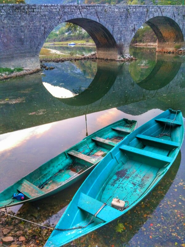 река Црноевича, Скадарское озеро, Черногория 2016
