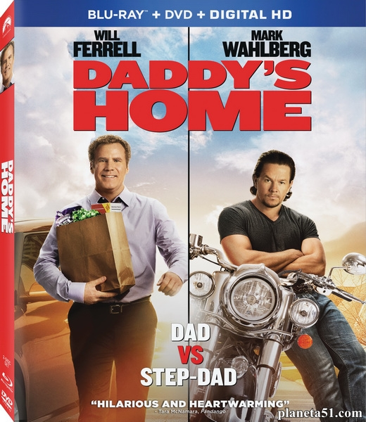 Здравствуй, папа, Новый год / Daddy's Home (2015/BDRip/HDRip)
