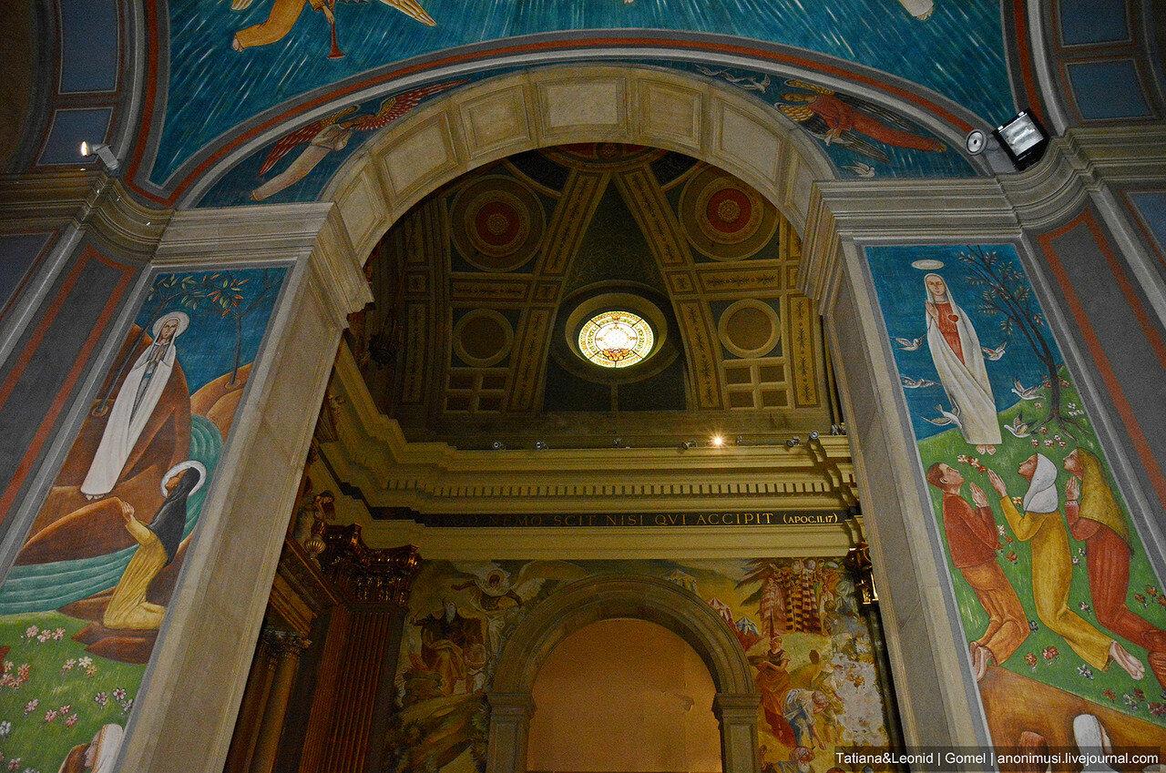 Церковь Сант-Висенс-де Саррия. Барселона