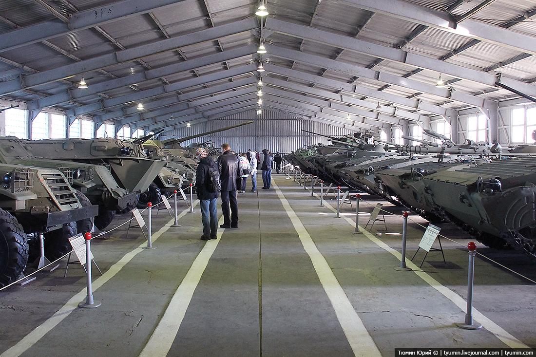Бронетанковый музей в Кубинке