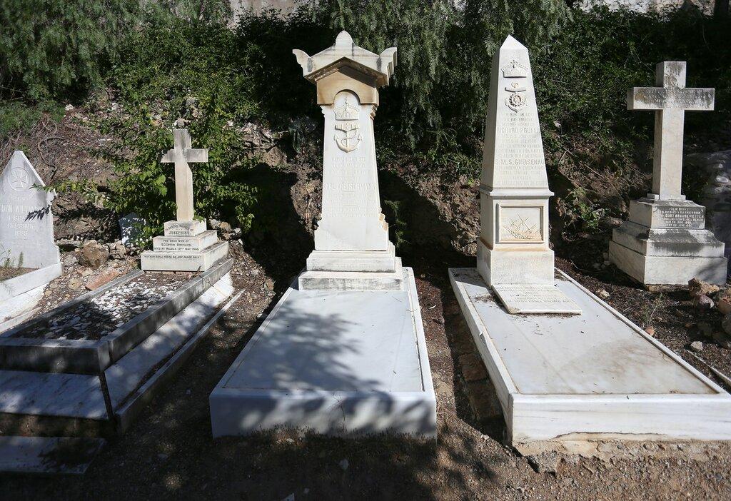 Малага. Английское кладбище (Cementerio Inglés)