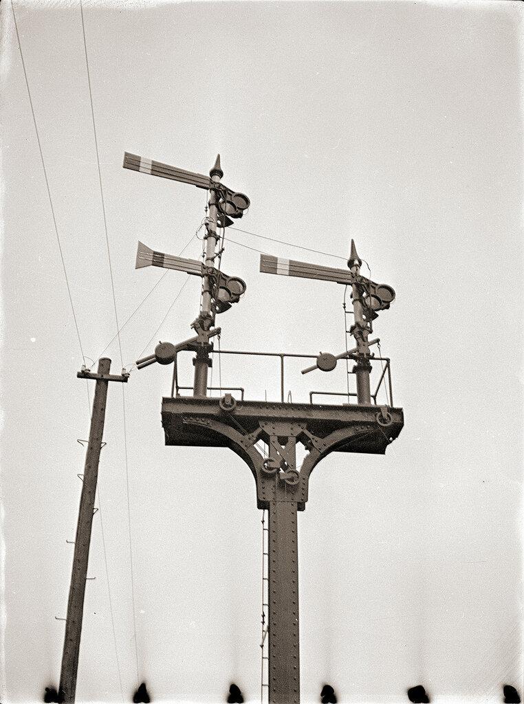 1930s Train Signal, Japan.